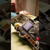 Goldwing Unsersbande 1500 démontage écran lcd radio 3