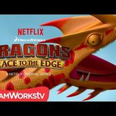 New Dragon Revealed: Singetail | DRAGONS: RACE TO THE EDGE