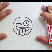 Como dibujar un Emoji paso a paso | How to draw an Emoji