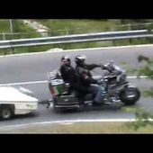 GOLDWING UNSERSBANDE - DESCENTE DU COL DU GOTHARD FILMEE PAR MF 4
