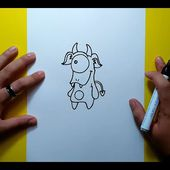 Como dibujar un monstruo paso a paso 14 | How to draw a monster 14