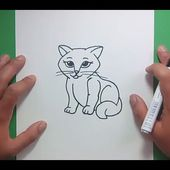 Como dibujar un gato paso a paso 23 | How to draw a cat 23