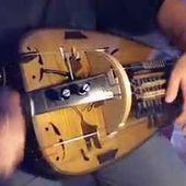 """Vielle à roue solo ( hurdy gurdy) : """"montée des bois de Vaux""""(trad. Morvan)"""
