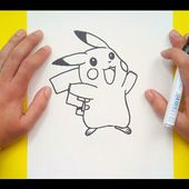 Como dibujar a Pikachu paso a paso 2 - Pokemon | How to draw Pikachu 2 - Pokemon