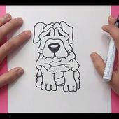 Como dibujar un perro paso a paso 36 | How to draw a dog 36