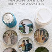 You HAVE To See These Adorable DIY Photo Resin Coasters!