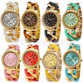 Aliexpress.com : Buy Hot Sale Women Geneva Candy Color Quartz Watches Fashion Ladies Link Chain Bracelet Watches Free Shipping from Reliable watch classic suppliers on Shenzhen Vgood Trade Company.,Ltd