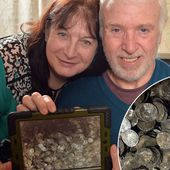 Skint metal detector fan on finding £1m worth of Anglo-Saxon coins
