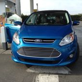 Two Prius owners rate the new Ford C-Max on the way to CES. Listen in... by scobleizer
