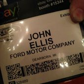 Geeking out about cars contextually with @Ford's software guy. #fordCES at Venetian Resort & Casino by scobleizer