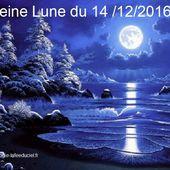 Pleine Lune du 14 Décembre 2016