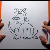Como dibujar un perro paso a paso 12 | How to draw a dog 12