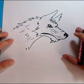 Como dibujar un lobo paso a paso 4 | How to draw a wolf 4
