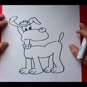 Como dibujar un perro paso a paso 9 | How to draw a dog 9