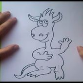 Como dibujar un monstruo paso a paso 6 | How to draw a monster 6