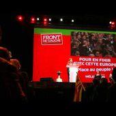 IU Francia con Adoración Guamán, candidata de IU para las Europeas en Montpellier, junto al FdG