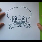 Como dibujar un payaso paso a paso 2 | How to draw a clown 2