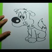 Como dibujar un perro paso a paso 11 | How to draw a dog 11