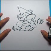 Como dibujar un payaso paso a paso 8 | How to draw a clown 8