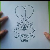 Como dibujar a Panini paso a paso - Chowder | How to draw Panini - Chowder