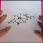 Como dibujar una flor paso a paso 11 | How to draw a flower 11