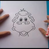 Como dibujar un mono paso a paso 2 | How to draw a monkey 2