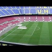 Visita al Camp nou en HD