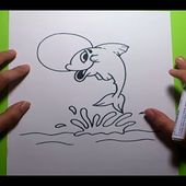 Como dibujar un pez paso a paso 8 | How to draw a fish 8