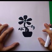 Como dibujar una flor paso a paso 5 | How to draw a flower 5