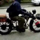 GOLDWING - RENCONTRE AVEC DE VIEILLES MOTOS EN HIVER 2013 - 2