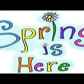 FUN Spring Song! - (Spring is HERE!)