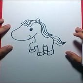Como dibujar un caballo paso a paso 2 | How to Draw a Horse 2