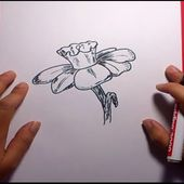 Como dibujar una flor paso a paso 10 | How to draw a flower 10