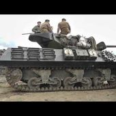 M10 Achilles tank destroyer - at War & Peace Show 2012