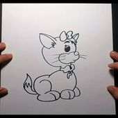Como dibujar un gato paso a paso 13 | How to draw a cat 13