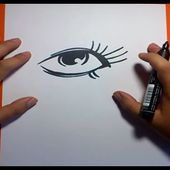 Como dibujar un ojo paso a paso 2 | How to draw an eye 2