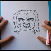Como dibujar un demonio paso a paso | How to draw a demon