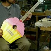 6 string classical cup cake guitar