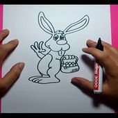 Como dibujar un conejo paso a paso 2 | How to draw a rabbit 2