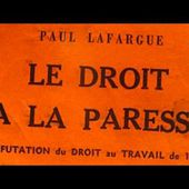 Georges Moustaki - Le droit à la paresse
