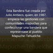 Historia de las Banderas Mapuches