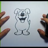 Como dibujar un perro paso a paso 19 | How to draw a dog 19