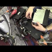 BMW K1200LT DIY Radio Replacement