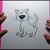 Como dibujar un gato paso a paso 14 | How to draw a cat 14