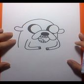 Como dibujar a Jake paso a paso 4 - Hora de aventuras | How to draw Jake 4 - Adventure time