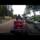 Goldwing 08 Les bouchons au Titisee