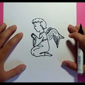 Como dibujar un angel paso a paso 3 | How to draw an angel 3