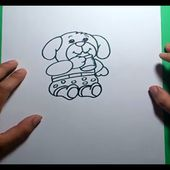 Como dibujar un oso de peluche paso a paso 13 | How to draw a teddy bear 13