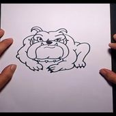 Como dibujar un perro paso a paso 16 | How to draw a dog 16