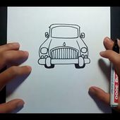 Como dibujar un coche paso a paso 3 | How to draw a car 3